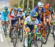 Jarlinson Pantano -伏打Ciclista Catalunya 2016年 图库摄影