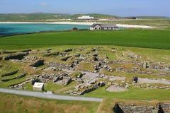 Prehistoric stone village Stock Photos