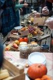 Jarmark mistrzowie kucharstwo zdjęcia stock