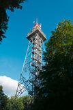 Jarnik, lookout tower, Pisek Stock Images