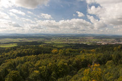 Jarnik lookout view on Pisek Stock Images