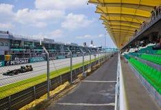 Jarno Trulli (Lotus van het Team) Royalty-vrije Stock Foto