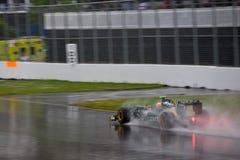 Jarno Trulli racing at Montreal Grand prix Royalty Free Stock Photo