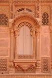 Jarokha. A Royal window (Jarokha) in Mehrangarh fort Stock Image