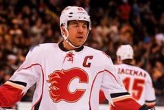 Jarome Iginla Calgary Flames Fotografie Stock