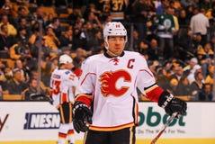 Jarome Iginla Calgary Flames Royaltyfri Fotografi