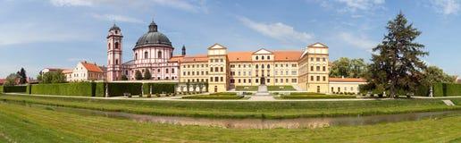 Jaromerice nad Rokytnou baroque and renaissance castle stock photo