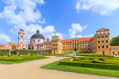 Jaromerice Palace Royalty Free Stock Image