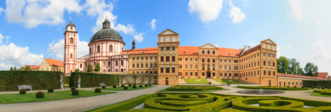 Jaromerice Palace in Southern Moravia, Czech Republic Royalty Free Stock Photos