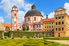 Jaromerice Palace in Southern Moravia, Czech Republic Royalty Free Stock Photography