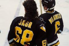 Jaromir Jagr, пингвины Питтсбурга Стоковое Изображение RF