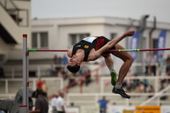 Jaroslav Baba - high jump Stock Photos