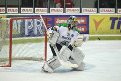 Jaroslav Hubl - Mlada Boleslav goalie Stock Photos