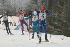 Jaroslav Soukup - biathlon Royalty-vrije Stock Fotografie