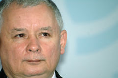 Jaroslaw Jaroslav Kaczynski Stock Images