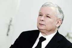 Jaroslaw Kaczynski stock photo