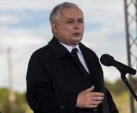 Jaroslaw Kaczynski Fotografia Stock