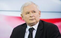 Jaroslaw Kaczynski en Polonia Fotos de archivo libres de regalías
