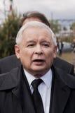 Jaroslaw Kaczynski Former Prime Minister della Polonia Immagini Stock