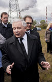 Jaroslaw Kaczynski  Former Prime Minister of Poland. Gryfino, Poland-May 14, 2014:Jaroslaw Kaczynski, former polish prime minister, leader of right-wing Royalty Free Stock Photo