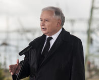 Jaroslaw Kaczynski  Former Prime Minister of Poland Royalty Free Stock Photography
