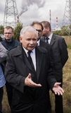 Jaroslaw Kaczynski  Former Prime Minister of Poland. Gryfino, Poland-May 14, 2014:Jaroslaw Kaczynski, former polish prime minister, leader of right-wing Royalty Free Stock Images
