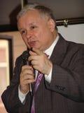 JAROSLAW KACZYNSKI - PREMIER MINISTRE DE LA POLOGNE. Image libre de droits