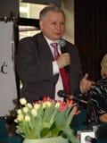 JAROSLAW KACZYNSKI - PRIME MINISTER OF POLAND. Stock Image