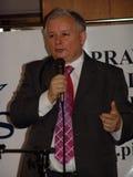 JAROSLAW KACZYNSKI - PRIMEIRO MINISTRO DE POLAND. Imagem de Stock Royalty Free