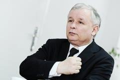 jaroslawkaczynski Arkivfoton