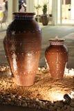 Jarra árabe Foto de archivo libre de regalías