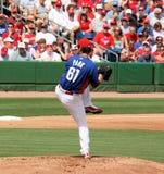 Jarra Chan Ho Park de MLB Philadelphia Phillies imagenes de archivo