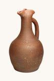 Jarra de cerámica de la vid Fotos de archivo