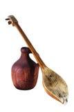 Jarra histórica y música Imágenes de archivo libres de regalías