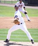 Jarra Zack Wheeler de Binghamton Mets Foto de archivo