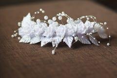 jarretière de la mariée Images stock