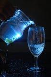 Jarro azul Foto de archivo libre de regalías