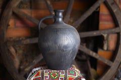 Jarro caseiro tradicional Fotografia de Stock Royalty Free