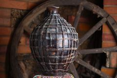 Jarro caseiro tradicional Fotografia de Stock