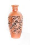 Jarro chinês da argila Imagem de Stock