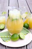 Jarro da hortelã Limeade do abacaxi Fotografia de Stock