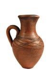 Jarro de cerámica Fotografía de archivo