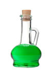 Jarro de cristal transparente con una bebida Fotografía de archivo
