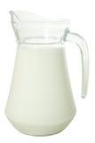 Jarro de leche Foto de archivo libre de regalías