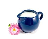 Jarro de leite imagens de stock royalty free