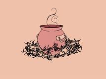 jarro de poción ilustración del vector