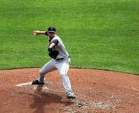 Jarro Dillon Gee do NY Mets imagem de stock