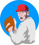 Jarro do basebol ilustração do vetor