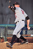Jarro do basebol - bullpen Imagens de Stock Royalty Free