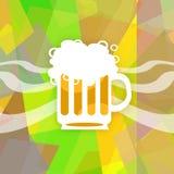 Jarro grande da cerveja ilustração royalty free